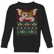 Gremlins Ugly Knit Kids' Christmas Sweater - Black