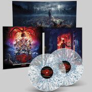 Stranger Things 2 (A Netflix Original Series Soundtrack) 180g 2xLP (Clear Crystal with Blue & White Splatter)