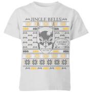 Batman I Do Not Smell Kids Christmas T Shirt   Grey   3 4 Years   Grey