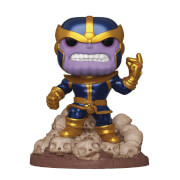 Figurine Pop! Deluxe Marvel Thanos Snap 6 Pouces EXC - PX Previews