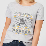 Batman I Do Not Smell Womens Christmas T Shirt   Grey   XXL   Grey