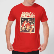 Tobias Fonseca Cats For Everybody Men's T-Shirt - Red