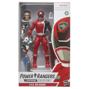 Power Rangers Lightning Collection - Figurine Ranger rouge S.P.D.
