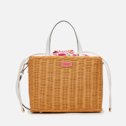 Kate Spade New York Women's Intarsia Scallop Medium Satchel - Optic White