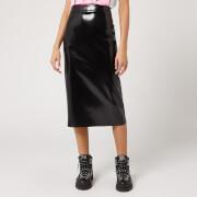 McQ Alexander McQueen Women's Pu Skirt - Black - IT 38/UK 6