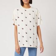 McQ Alexander McQueen Women's Umeko Seam T-Shirt - Oyster - XS