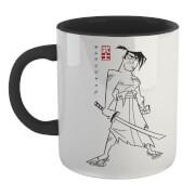 Samurai Jack Kanji Mug - White/Black