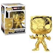 Funko Pop! Vinyl Marvel Studios 10 - Chrome Black Panther Figure