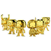 Funko Pop! Vinyl Marvel Studios 10 Chrome Bundle - 6 Pack