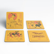 Samurai Jack Eternal Battle Coaster Set