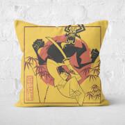 Samurai Jack Eternal Battle Square Cushion