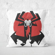 Samurai Jack Aku Square Cushion