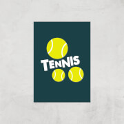 Tennis Balls Art Print   A2   Print Only
