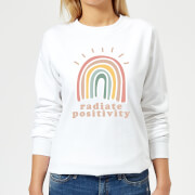 Radiate Positivity Women's Sweatshirt - White