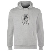 How Ridiculous Rexy Hoodie - Grey