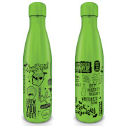 Rick and Morty (Quotes) Metal Drinks Bottle