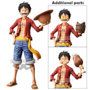 Banpresto One Piece Monkey.D.Luffy Grandista Nero Statue