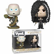 Funko Harry Potter Bellatrix Lestrange & Voldemort VYNL.