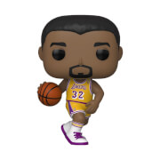 NBA Legends Magic Johnson Lakers Home Jersey Pop! Vinyl Figure