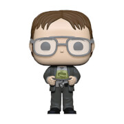 Figurine Pop! Dwight Avec Aggrafeuse Dans Gelée - The Office
