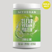 Clear Vegan Protein - 320g - Citron et citron vert