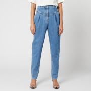 Philosophy di Lorenzo Serafini Women's Denim Trousers - Blue - IT 42/UK 10