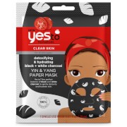 Купить Yes to Tomatoes Detoxifying and Remineralizing Yin & Yang Charcoal Paper Mask 20ml