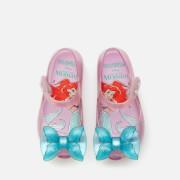 mini melissa toddlers' disney the little mermaid ultragirl flats - purple/aqua - uk 4 toddler