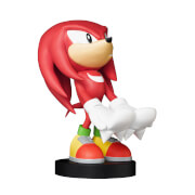 Sonic Collectable Knuckles 8 Inch Cable Guy Controller and Smartphone Stand