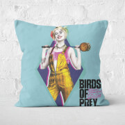 Harley Quinn Square Cushion 50x50cm Soft Touch