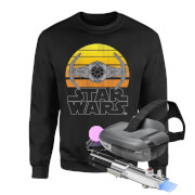 Star wars ar and sweatshirt bundle mens 4xl noir