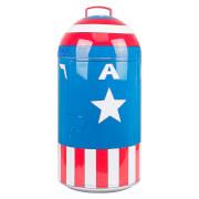 Marvel Captain America 14L Mini Fridge - US Plug