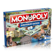 Monopoly Board Game - Shrewsbury Edition