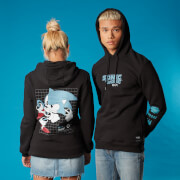 Sweat à capuche Speed Sonic the Hedgehog - Noir - Unisexe