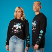 Run Through This! Sonic the Hedgehog Unisex Sweatshirt - Black