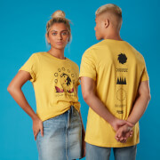 Rings Sonic the Hedgehog Unisex T-Shirt - Yellow