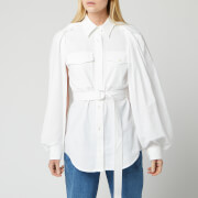 JW Anderson Women's Trench Shirt - White - UK 6