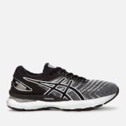 asics women's running gel-nimbus 22 trainers - white/black - uk 3