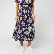 PS Paul Smith Women's Floral Print Skirt - Multi - IT 40/UK 10