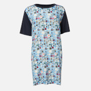 PS Paul Smith Women's Stamp Dress - Blue - XS