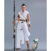 Figurine Articulée Rey et D-O (à l'échelle 1/6) Star Wars Episode IX Movie Masterpiece 31cm - Hot Toys
