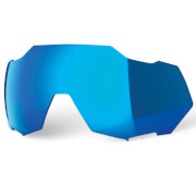 100% Speedtrap Replacement HiPER Mirror Lens - Blue