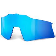 100% Speedcraft SL Replacement HiPER Mirror Lens - Blue