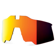 100% Speedcraft Air Replacement Hiper Red Mirror Lens