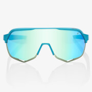 100% S2 Peter Sagan Limited Edition Sunglasses with Blue Multiplayer Mirror Lens