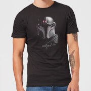 The Mandalorian Poster Men's T-Shirt - Black