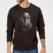 The Mandalorian Poster Sweatshirt - Black