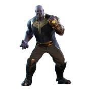Figurine Articulée Thanos (à l'échelle 1/6) Avengers: Infinity War Movie Masterpiece 41cm - Hot Toys