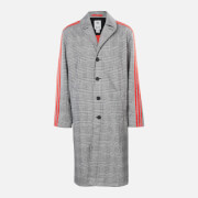 adidas X 424 Men's Trench Coat - White/Black/Red - S