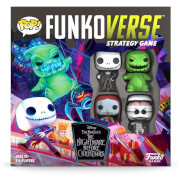Funkoverse The Nightmare Before Christmas Strategy Game (4 Pack)
